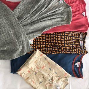 5 Piece Bundle Includes Dress, Vest, and Top